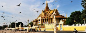 The Chanchhaya Pavilion of Royal Palace, Phnom Penh, Cambodia_st