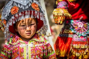 Local Kid in Ha Giang by Ngoc Tran