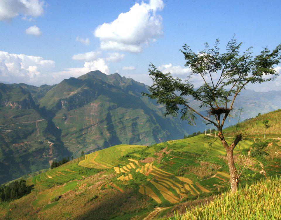 mountainous Vietnam